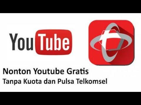 Cara Nonton Youtube Gratis Tanpa Kuota Dan Pulsa Telkomsel Terbaru