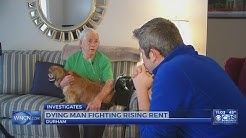 Dying Durham man could lose home as rent rises
