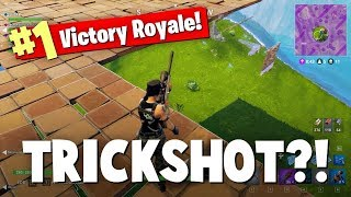 I WENT FOR A TRICK SHOT AND THIS HAPPENED... FORTNITE BATTLE ROYALE