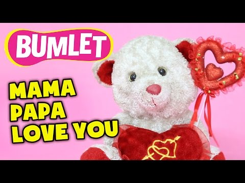 Mama Papa Love You | Happy Rhyme On Mother & Father By Funzoa Mimi Teddy - 4.07 Mins