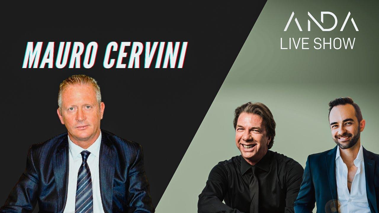 ANDA Live Show con Ospite Mauro Cervini