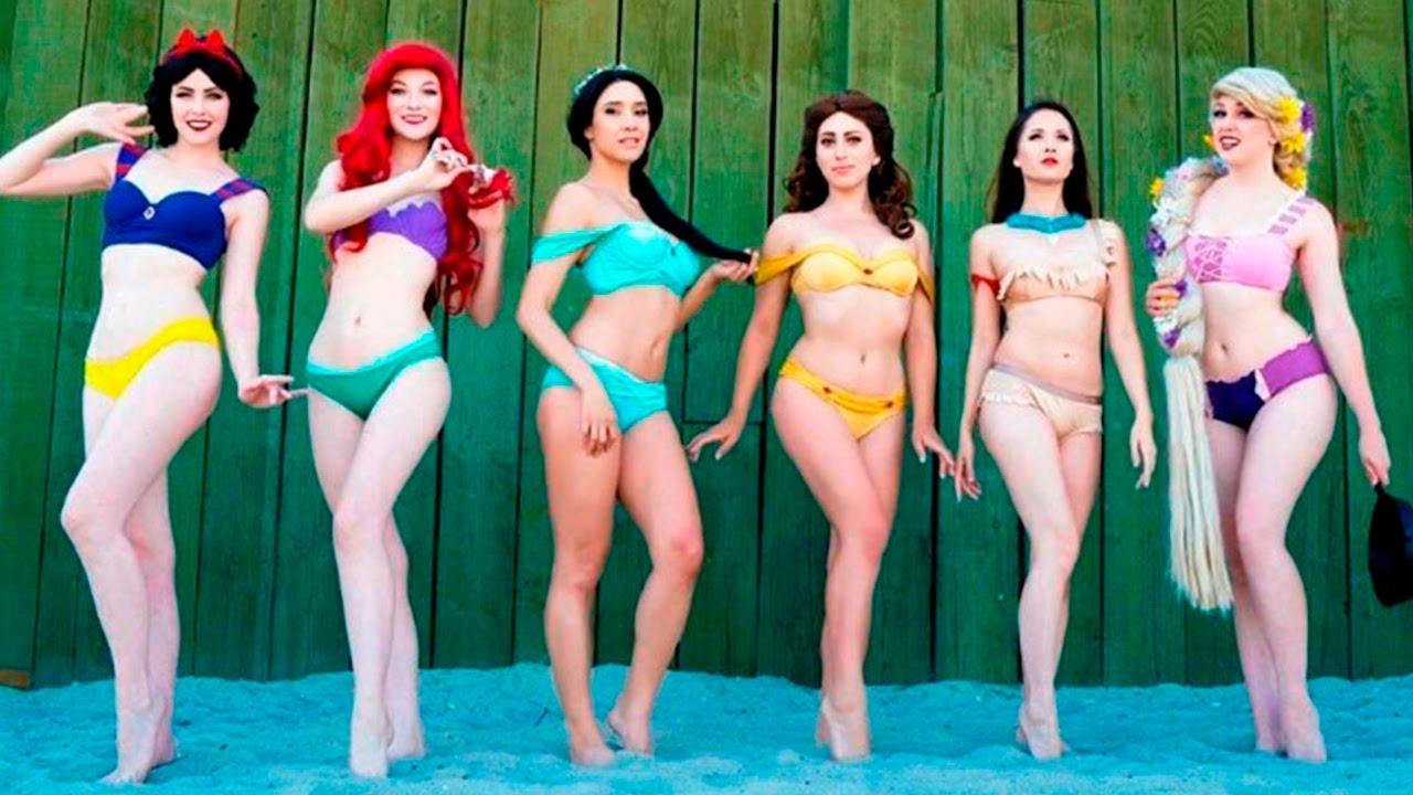 Las Bikinis Princesas Redes En Disney Encienden Inspirados De lKc31JTF
