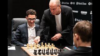 Kämpferischer Auftakt - Schachweltmeisterschaft 2018 [Runde 1]