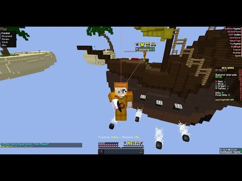 New Fly Hack On HyPixel?!?! (Hypixel BedWars) #1