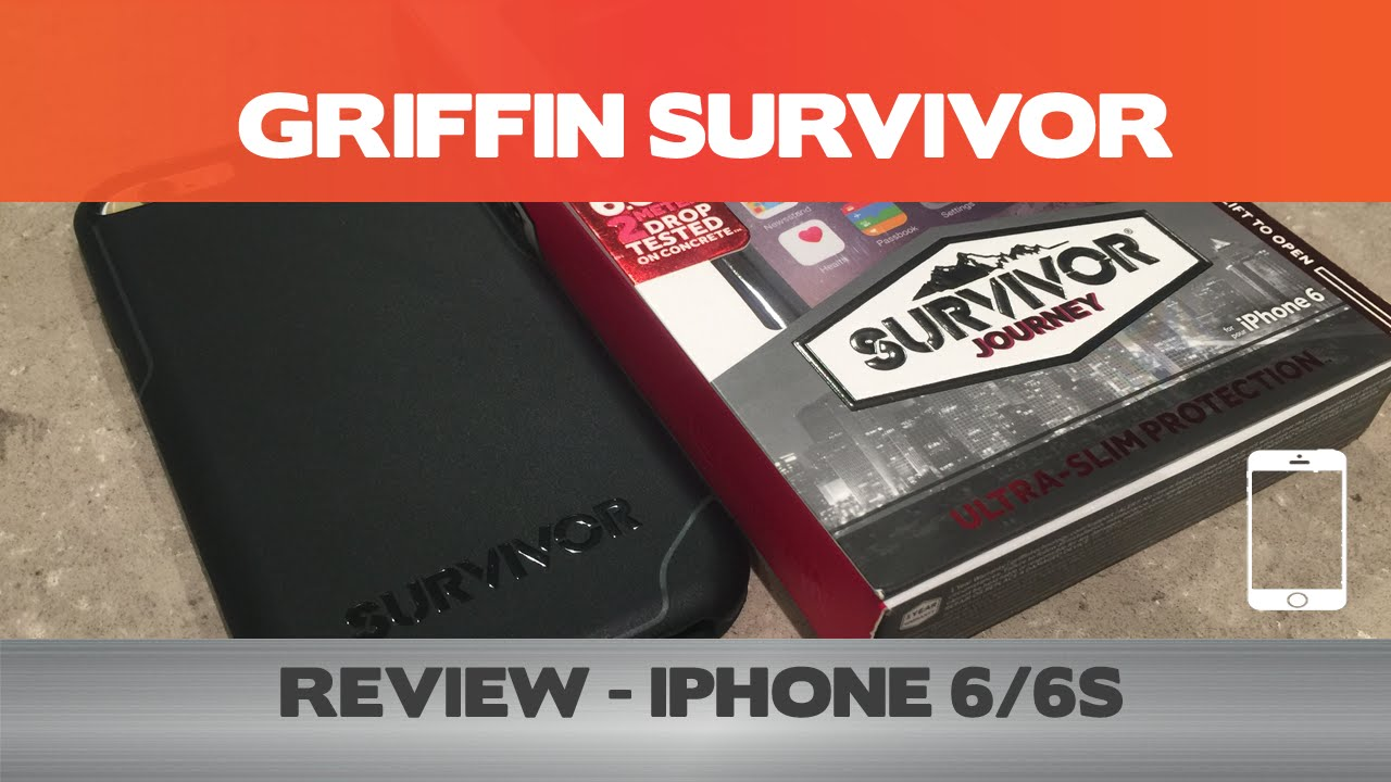 timeless design ac877 55d04 Griffin Survivor Journey Review - Pleasantly surprised by this iPhone case  - iPhone 6(s+)
