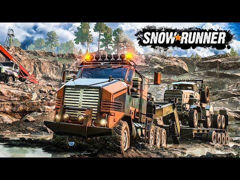 SNOWRUNNER: Fahrzeuge, Features, Gameplay Und Infos Zur OFFROAD-Simulation 2020!