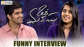 niharika-and-naga-shourya-funny-interview-about-oka-manasu-movie