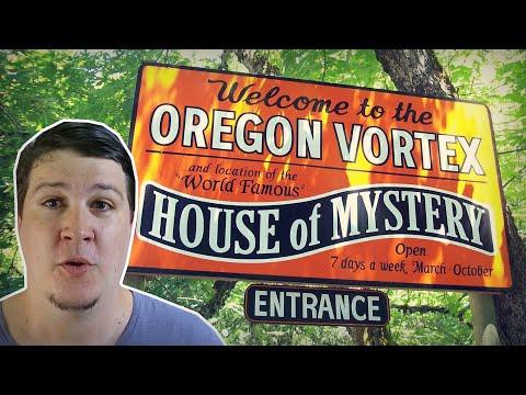 O Vórtex do Oregon e a House of Mystery