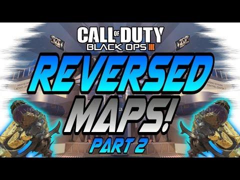 REVERSED MAPS Part 2! - Aquarium, Evac, Infection, Skyjacked (Black Ops 3/BO3 Experiment)