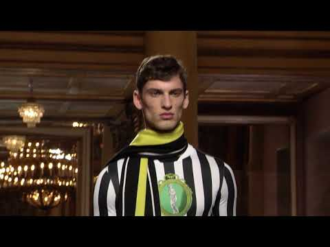 Versace Fall Winter 2018 Men