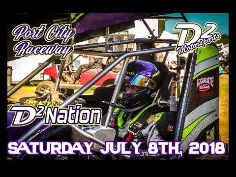 D2 Motorsports - Port City Raceway - Points Race 7-8-19 - Enter Plan B -
