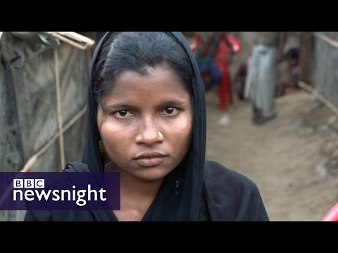 Myanmar: Are crimes against humanity taking place? * Warning: Distressing images * - BBC Newsnight