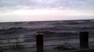 Шторм. Финский залив 26.12.2011г.