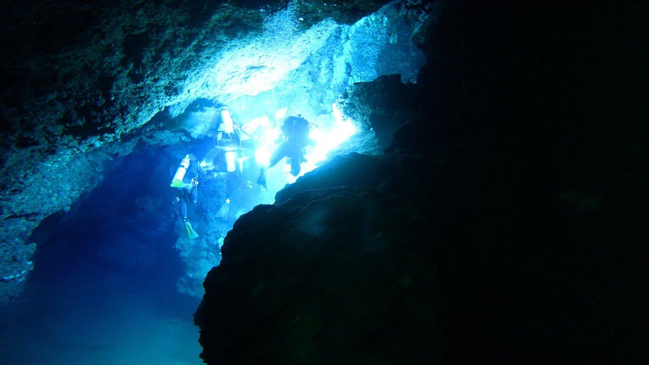 Diving Marigondon Cave, Mactan,Cebu Island