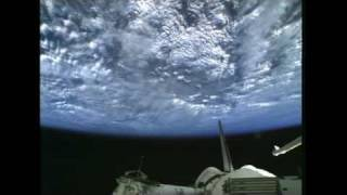 STS-133 Flight Day 3 Highlights - STS-133 Rendezvous Pitch Maneuver, Docking & Hatch Opening