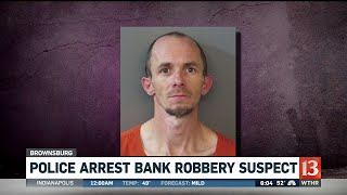 Police Arrest Bank Robbery Suspect