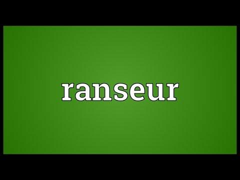 Header of ranseur
