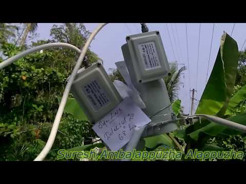 freedish intelsat17 66E and intelsat20 68E Multi lnb Install
