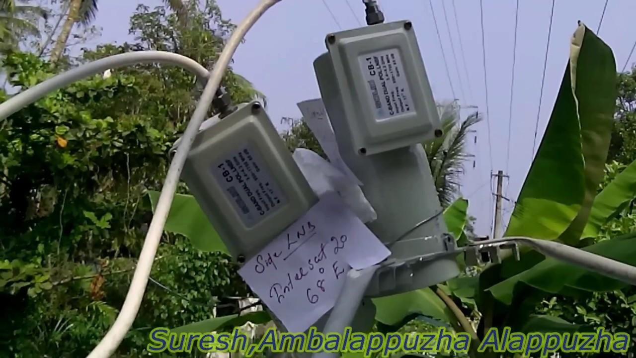 Freedish Intelsat17 66e And Intelsat20 68e Multi Lnb