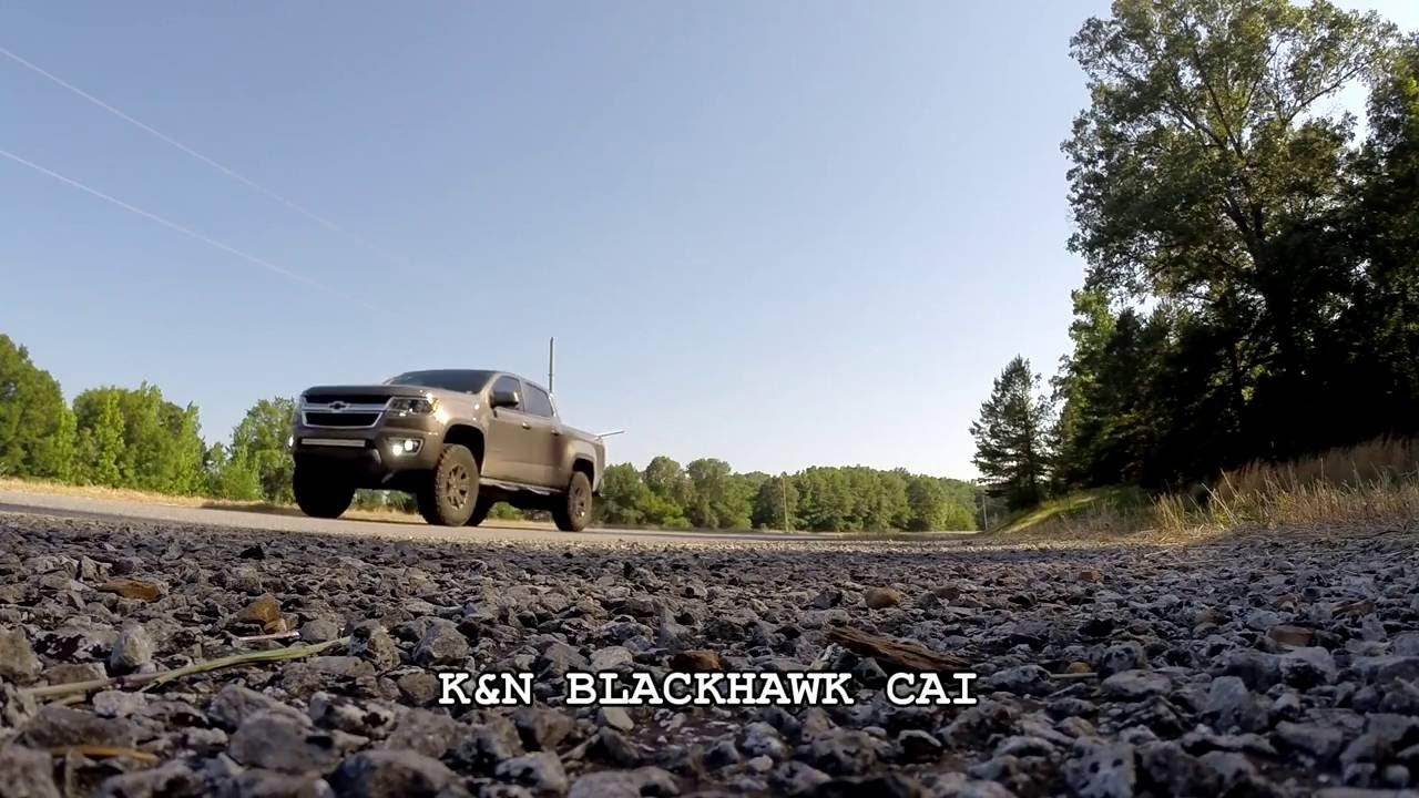 2015 Chevy Colorado 3 6L V6 Stock vs K&N Blackhawk Intake Comparison (Noise  Levels)