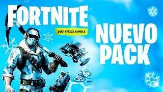 ❄️NUEVO **PACK** de FORTNITE - DEEP FREEZE BUNDLE❄️