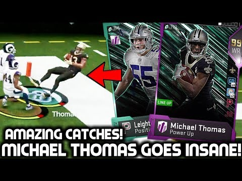 MICHAEL THOMAS MAKES INSANE CATCHES! LVE & DARRELL GREEN! Madden 19 Ultimate Team