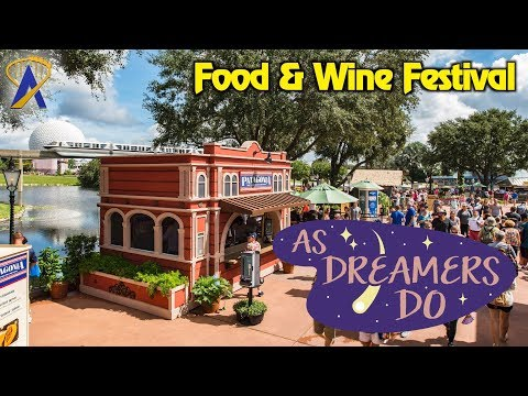 Newest Treats at the Food & Wine Festival - As Dreamers Do