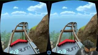 مقطع بسيط   تجربة نظارة الواقع الافتراضي للجوال   فيس كام