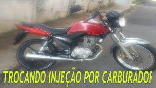 COMO ADPTAR E COLOCAR CARBURADOR EM MOTO INJEÇÂO (Titan/Fan 150)