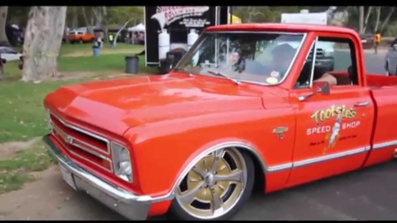 Tootsie's Speed Shop 67 C-10 at Brothers Truck show - YouTube