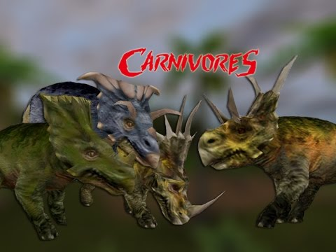 DIABLOCERATOPS + 3 NEW CERATOPSIANS – Carnivores 2 Mods | Carnivores Mods Showcase Series