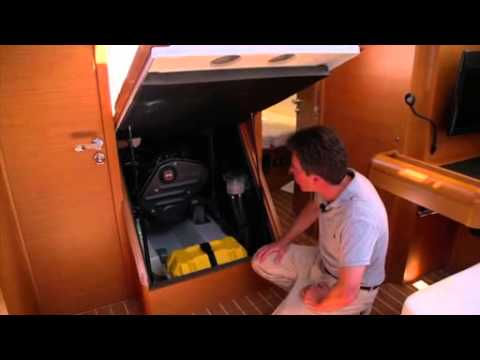 Jeanneau Sun Odyssey 469 Engine - Network Yacht Brokers Barcelona