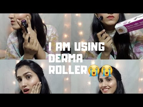 DERMA ROLLER FOR SCARS & HAIR GROWTH