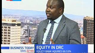 Equity  acquires  66.53% stake in DRC bank