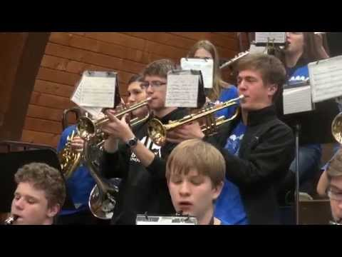 Mt Ararat High School Band -Hang On Snoopy