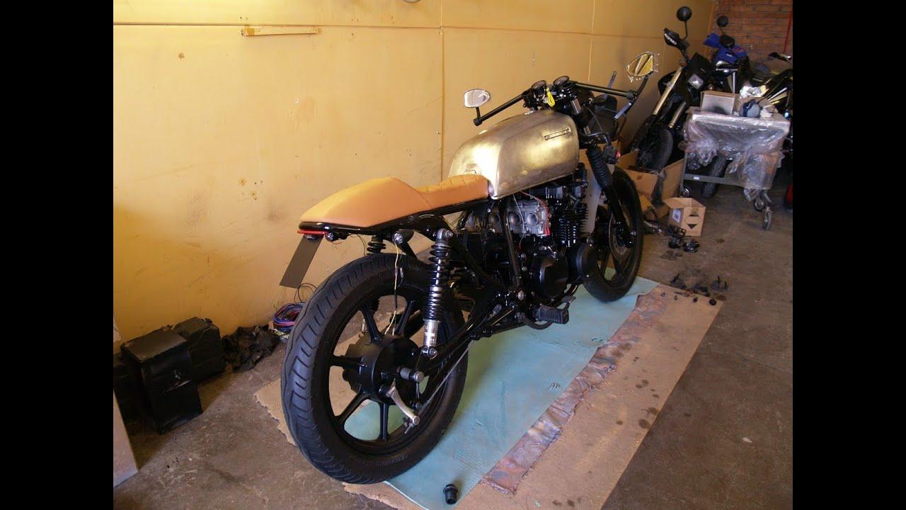 Cafe Racer Build Story Part 3 Přestavba Kawasaki Gt550 1990