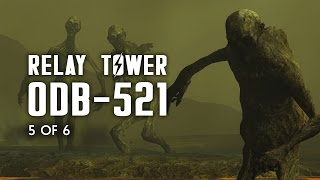 Relay Tower 0DB-521 - Raider Cave, Sunken Church, Crashed Flight 1665 - Fallout 4 Lore