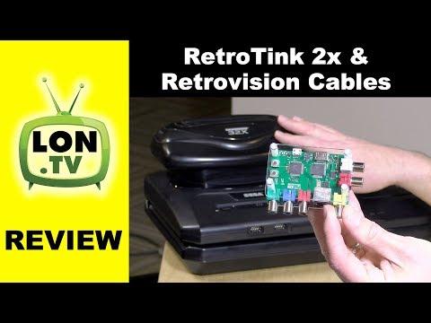 Sega Genesis / Sega CD / 32x / SNES on Modern HDMI TVs! Retrotink 2x & Retrovision Cables