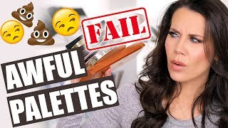NOT WORTH IT PALETTES | Save your Money!