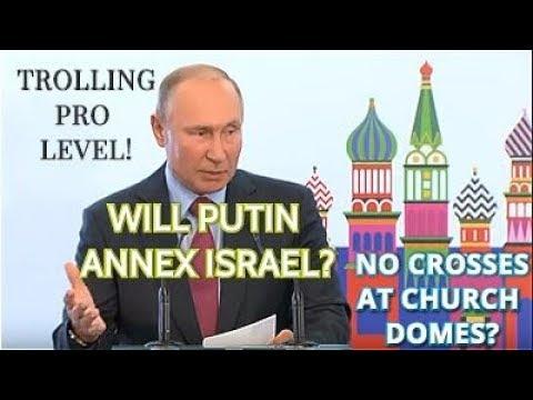 BREAKING! Putin: Israel Is Russian-Speaking Country