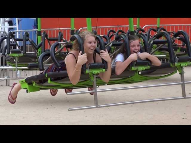 Sky Flyer, Scary Rides On Moomba 2013 Melbourne