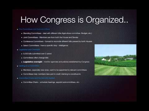 AP Gov Review: Government In America, Chapter 12