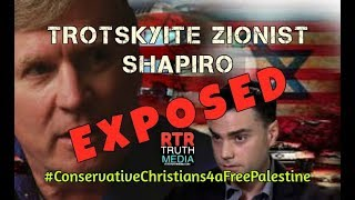 Trotskyite Zionist Ben Shapiro Exposed by Conservative Pastor by RTR Truth Media