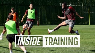 Highlights of 6-a-side tournament in Marbella   All of the goals from training