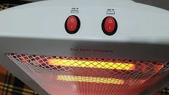Double Rod Room Heater test and review   Omega Heater   Electrical Unboxing