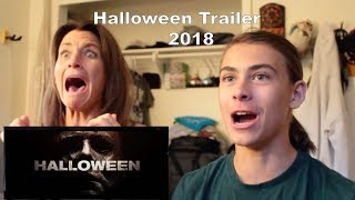 MOM REACTS TO HALLOWEEN 2018 OFFICIAL TRAILER