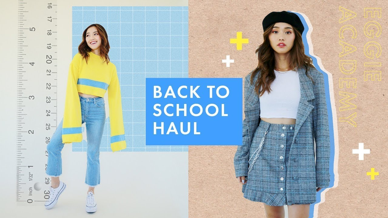 [VIDEO] – What to Wear Back To College | Eggie Haul