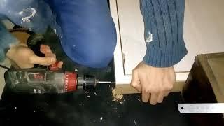 Установка межкомнатной двери своими руками часть 1(коробка, петли)