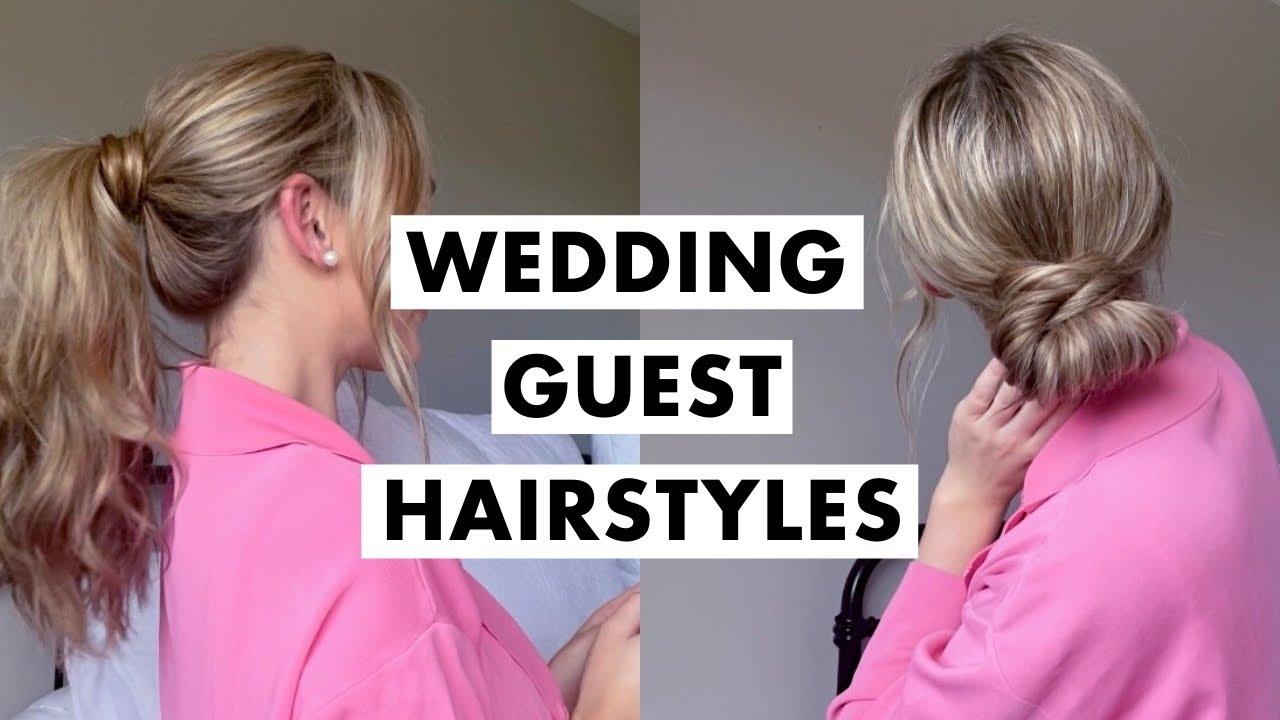 Wedding Guest Hairstyles | Luxy Hair
