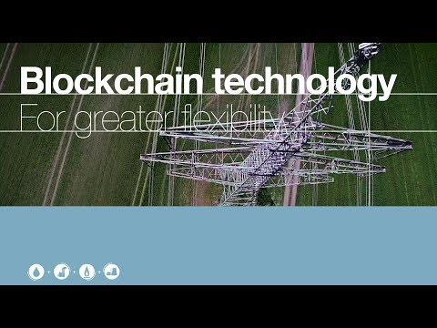 For greater flexibility in the electricity grid system - Blockchain technology
